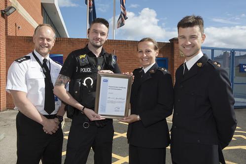PC Jason O'Connell Wins RSPCA Award
