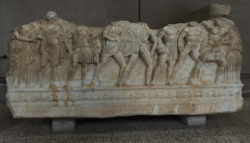 Corinth Museum XXI - Seven against Thebes