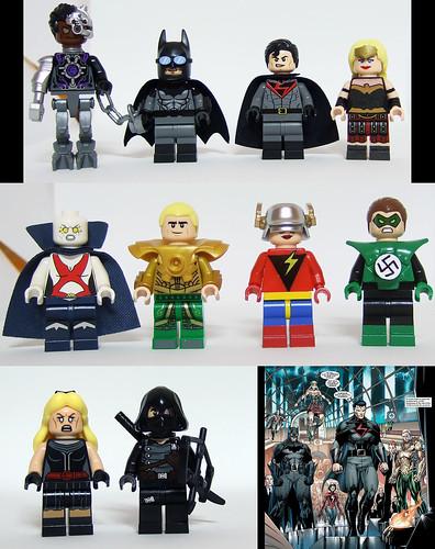 New Reichsmen - Justice League - Earth X (DC comics)