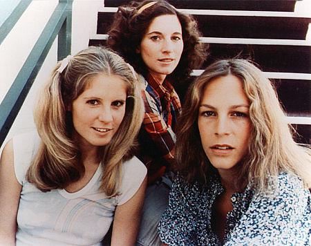 Halloween - 1978 - Promo Photo - P.J. Soles, Nancy Loomis, Jamie Lee Curtis