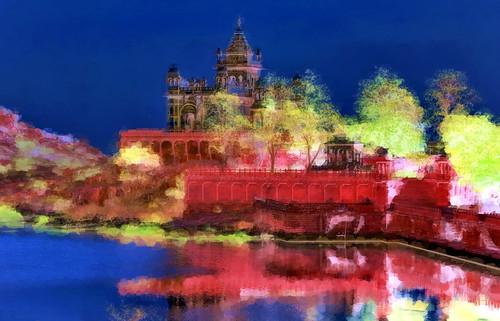 India - Rajasthan - Jodhpur - Jaswant Thada - 168b