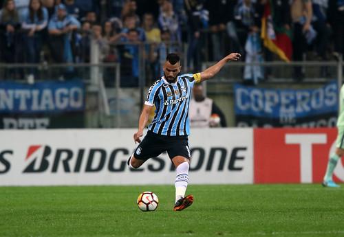 Grêmio x Estudiantes - Porto Alegre, RS - 28/08/2018.