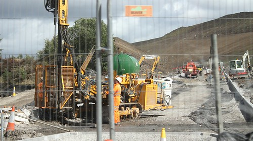 20 A465 Dualling Gilwern to Brynmawr August 2018 Wales UK