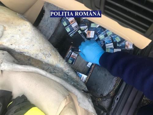 57.960 DE ŢIGARETE DE CONTRABANDĂ, CONFISCATE DE POLIŢIŞTII BĂCĂUANI