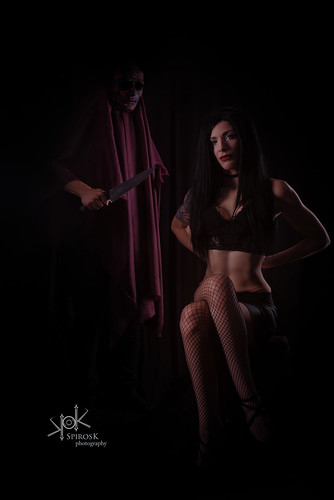 The Serial Killer, a horror story by Obsecration and SpirosK photography, with Natasa Sacerdos