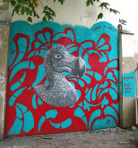 Wall by Jean Jerome X Sept Spray Paint [Paris 11e]