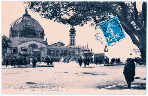 Nice - Entrée du Palais de la Jetée Prior to 1921