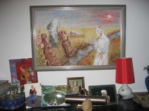 Dora Ferle malt Tschernobyl