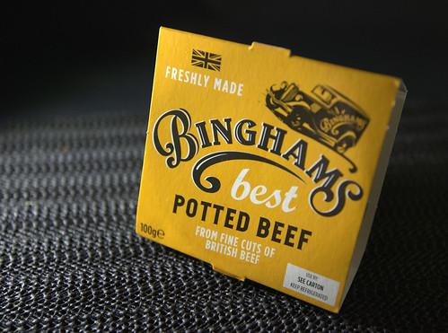 Bingham's Potted  Beef