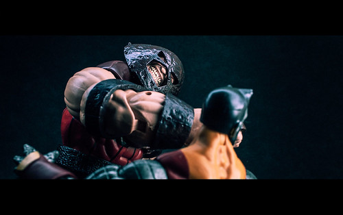 Marvel Legends Juggernaut vs. Colossus!