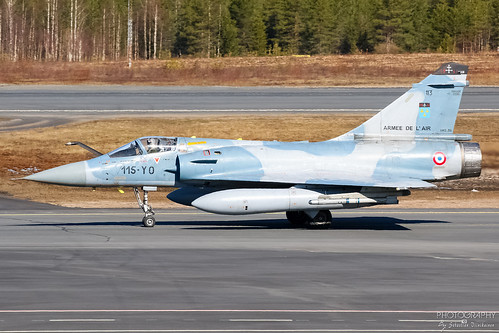 113 / 115-YO France Air Force Dassault Mirage 2000C, EFRO, Finland