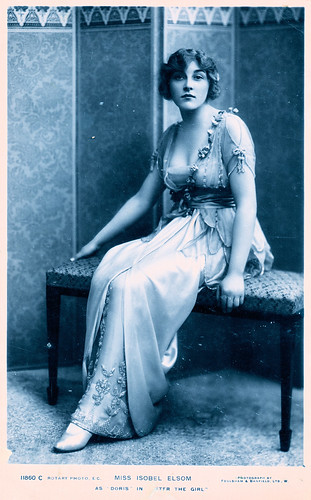 Miss Isobel Elsom. And Some Interesting Information About Her.