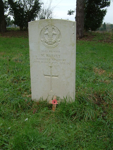 Private Miles Harvey, Labour Corps, 1919