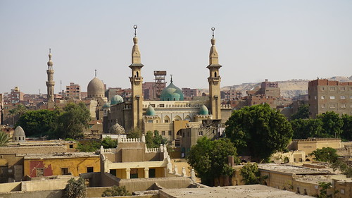 Khanqah-Mausoleum of Farag Ibn Barquq, the City of Dead, the Northern Cemetery, Cairo, Egypt.