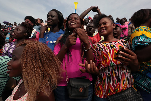 UN Day celebrations deliver moments of much-deserved ecstasy to jubilant Juba crowd