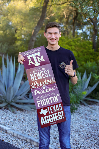 He's going to be an Aggie