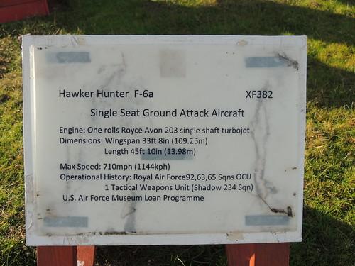 Hawker Hunter F6A XF382 pic 003