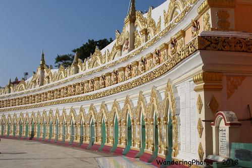 Umin Thounzeh Temple - Sagaing Mandalay Myanmar