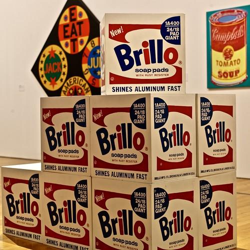 Brillo Box (1964-1968) - Andy Warhol (1928-1987)