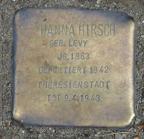HANNA HIRSCH  Kurzer Kamp 6 Altenheim (Hamburg-Nord, Fuhlsbüttel)