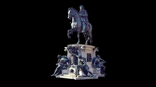Germany - Berlin - Charlottenburg Palace - Friedrich Wilhelm von Preußen (1688-1740) - 11d