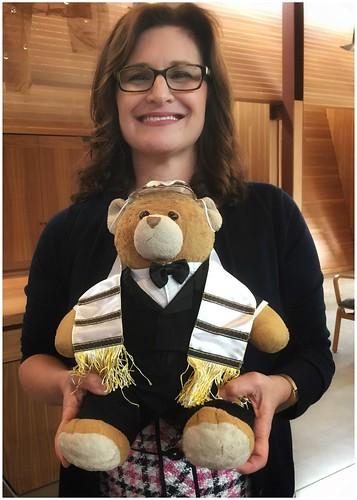 What!?  A Jewish Teddy Bear   Story follows...