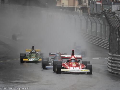 2018 Monaco GP Historique: Ferrari 312B3, Shadow DN5 & Token RJ02