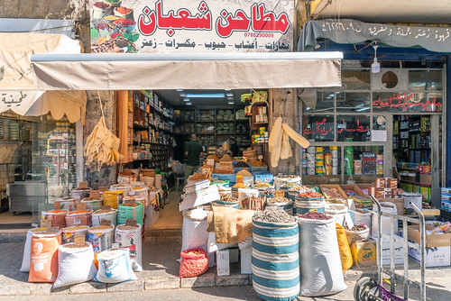 Spices in Amman, Jordan