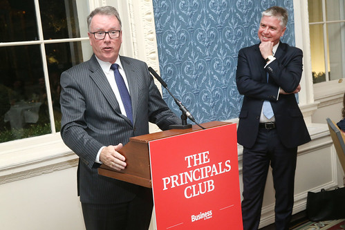 The Principals Club dinner with guest of honour Nicholas Kearns, Merrion Hotel, Dublin, Thursday 18th October 2018