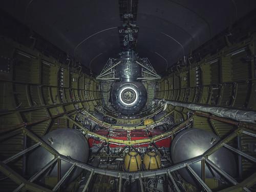 Abandoned soviet space shuttle