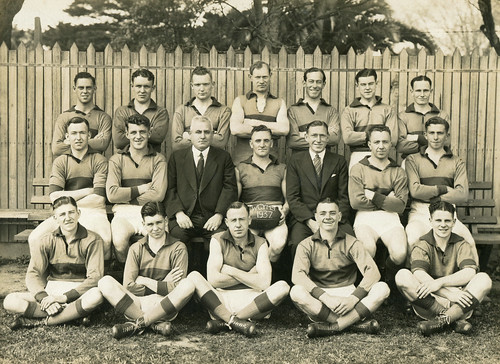 Williamstown CYMS Football Club - 1937 - Club Photo