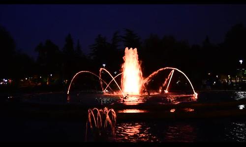 Margaret Island Fountain, Budapest