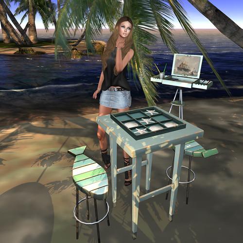La playa -