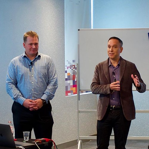Douglas Fallstrom and David Flynn introduce @Hammerspace_Inc at #TFD17