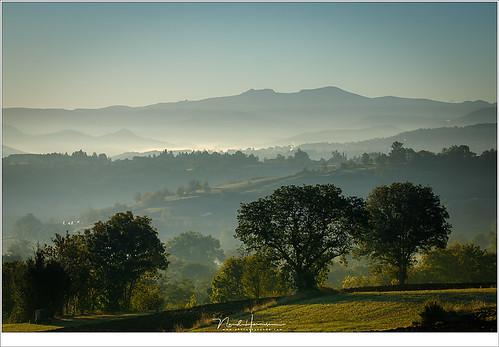 Ochtend in de Auvergne