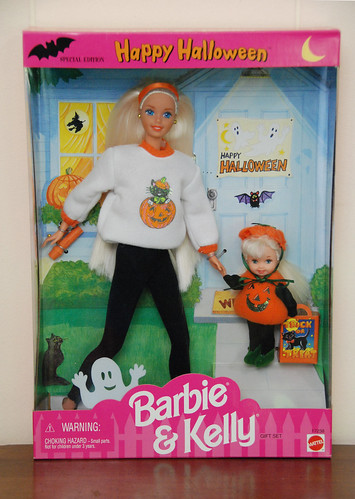 Happy Halloween Barbie & Kelly