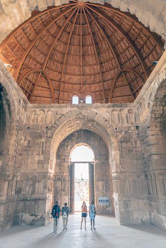 Umayyad Palace in Amman Citadel
