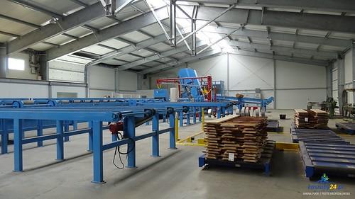 Leśniewo: Nowa maszyna w Tartaku MGJ