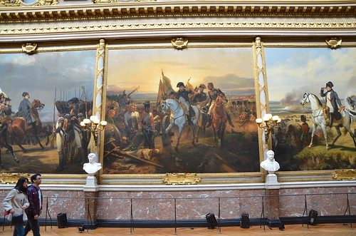 Napoleon In The Galerie des Batailles
