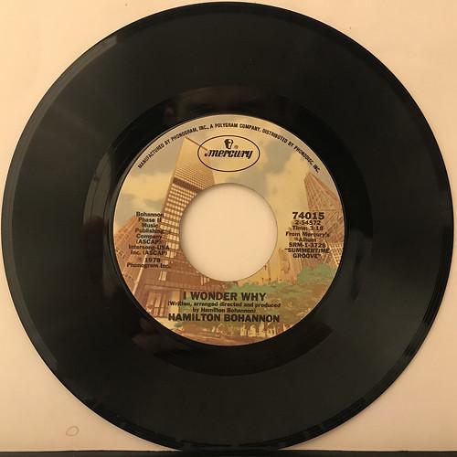 HAMILTON BOHANNON:LET'S START THE DANCE(RECORD SIDE-B)