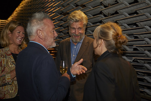 MB2018ShortlistParty - Karl Ove Knausgaard talks to shortlisted author Robin Robertson