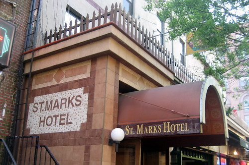 NYC - East Village: St. Marks Hotel