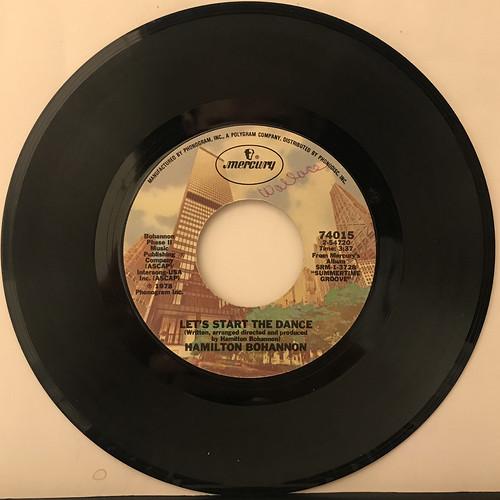 HAMILTON BOHANNON:LET'S START THE DANCE(RECORD SIDE-A)