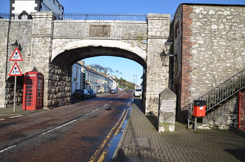 Carnlough Harbour is a village in County Antrim, Northern Ireland.