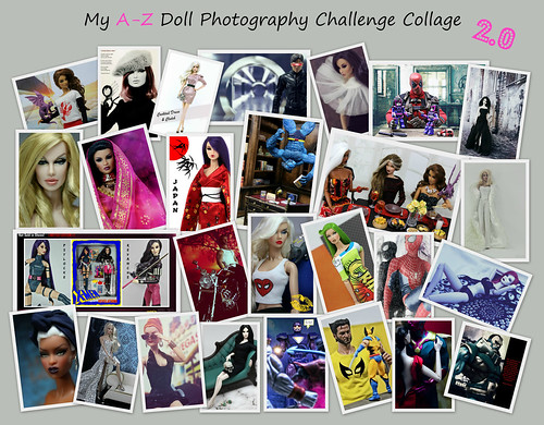 my A-Z 2.0 collage
