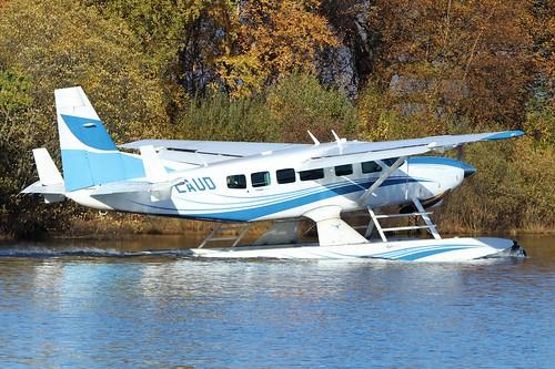 G-LAUD Cessna 208 Caravan Amphibian @ Loch Lomond, Balloch 28th October 2018