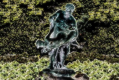 Germany - Berlin - Statue At Kreuzberg -