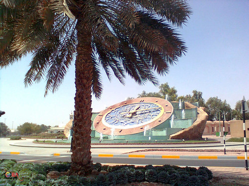 Clock Roundabout  -Al Ain - Abu Dhabi - United Arab Emirates - 2011