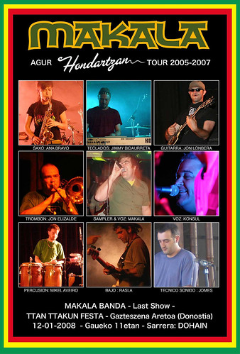 Agur Makala Hondartzan Tour 2005-2007