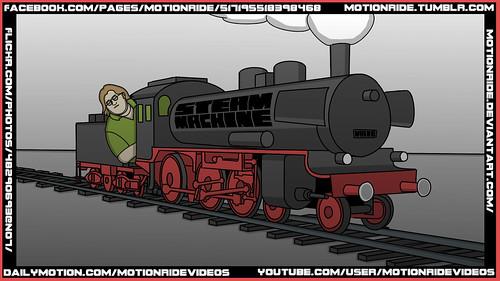 MotionRide - Steam Machine